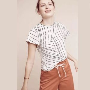 NWOT Anthropologie Dolan West Coast Stripe Tee